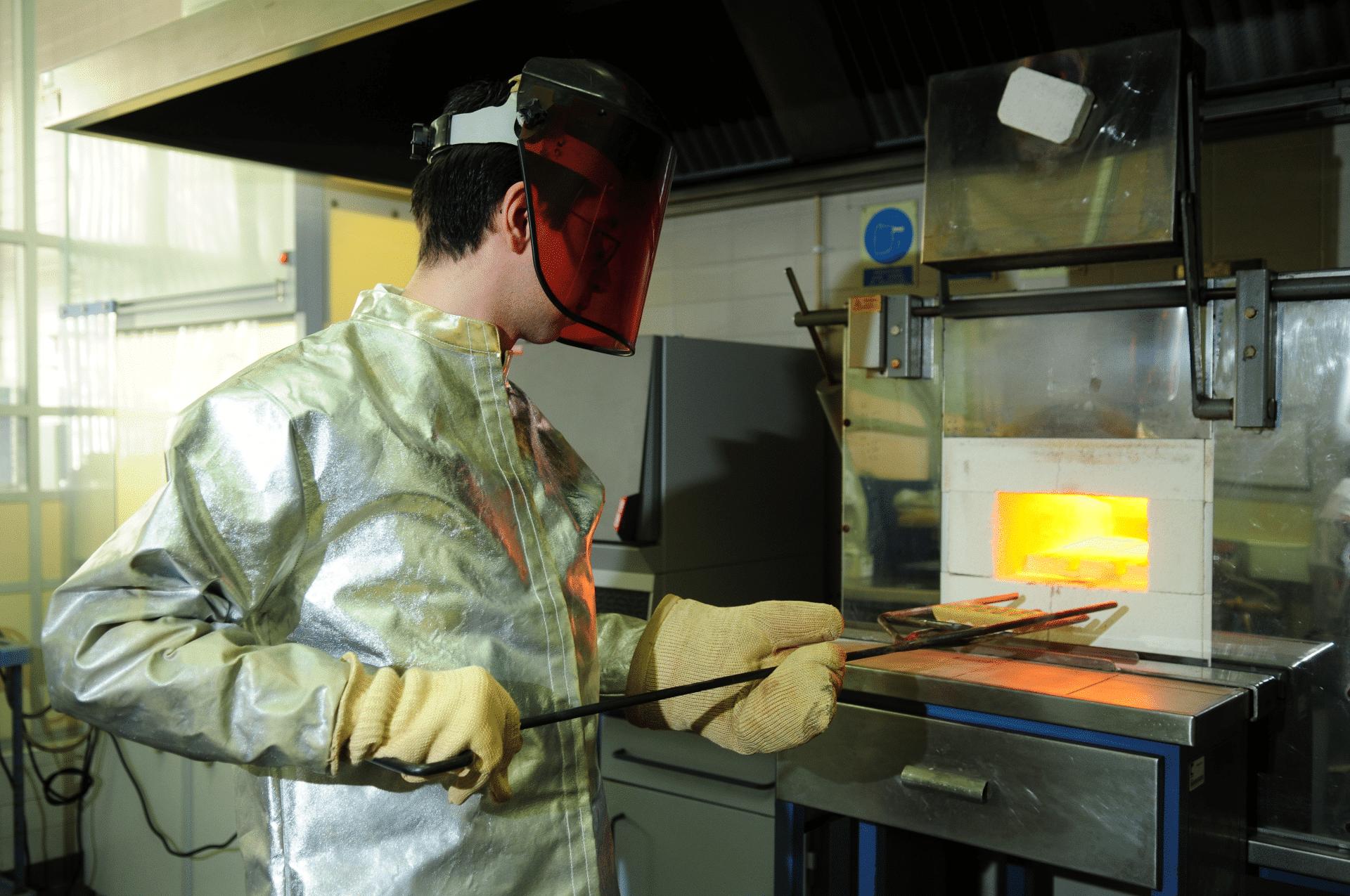 Laboratório de metais - serviços