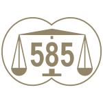 Marca comum controlo ouro 585