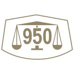 Marca comum controlo paládio 950