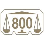 Marca comum controlo prata 800