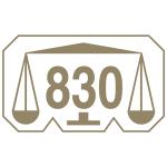 Marca comum controlo prata 830