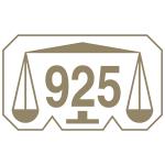 Marca comum controlo prata 925