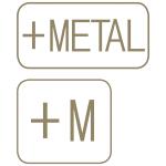 Marca artigos compostos metal