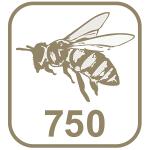 Marca abelha 750