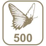 Marca borboleta 500