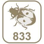 Marca joaninha 833