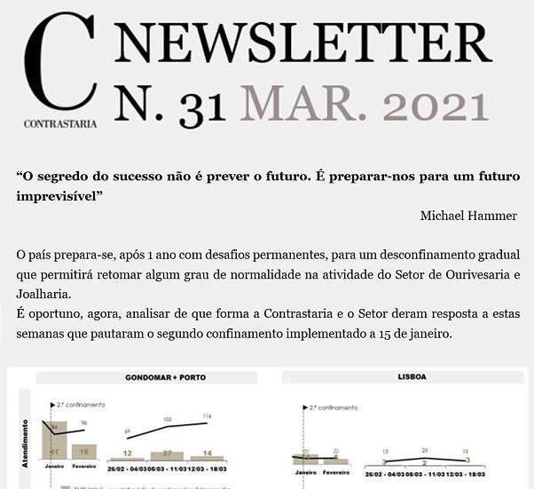 Newsletter 31 - março 2021