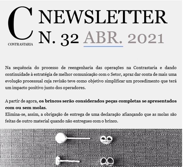 Newsletter 32 - abril 2021